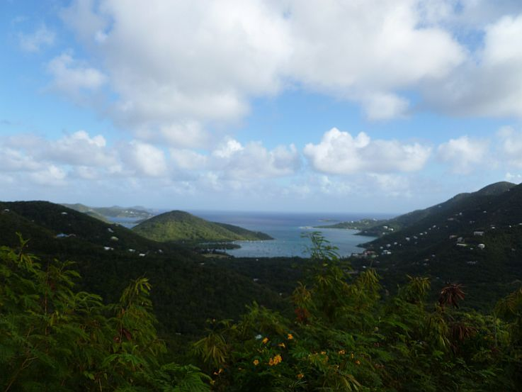 View of Coral Bay St John