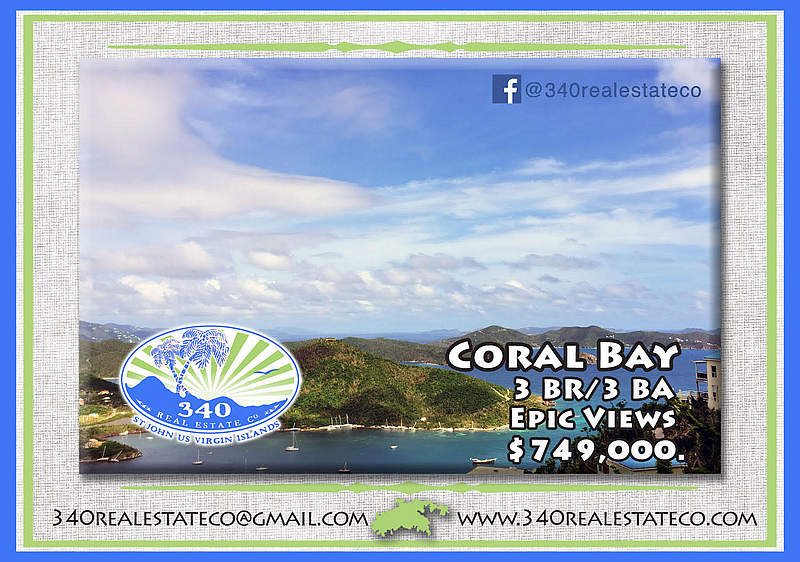 3 Bedroom for Sale in Coral Bay St John VI