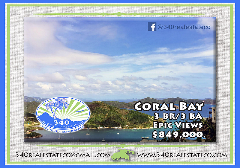 3 bedrrom 3 Bath house for Sale in Coral Bay